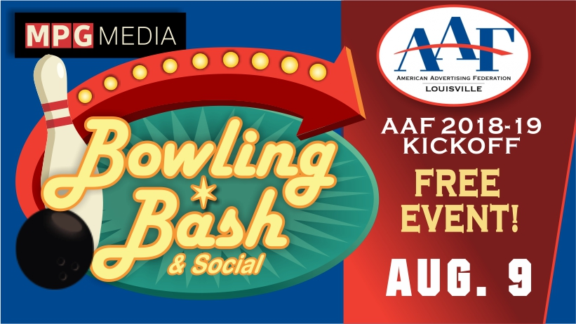 AAF-Louisville to Host Bowling Bash & Social August 9